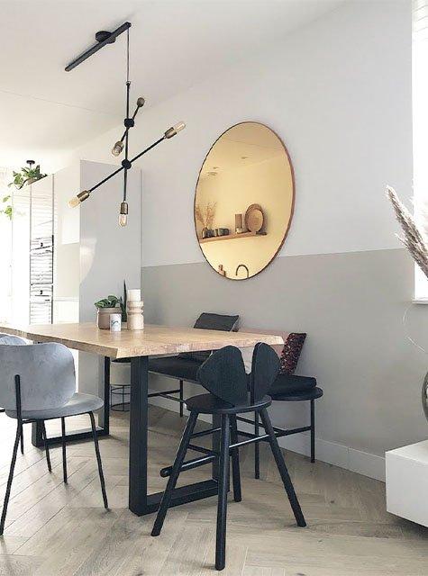 Lightswing Eetkamer (Single Mat zwart)
