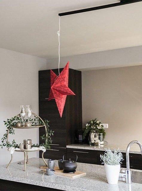 Lightswing Keuken Kerstster (Single Mat zwart)