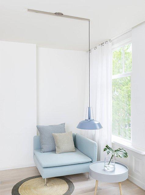 Lightswing Reading Corner (Single Stainless Steel)