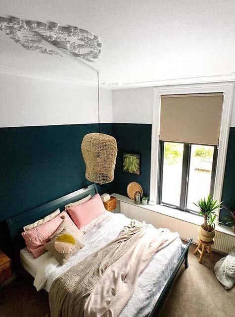 Lightswing Ornament Bedroom (Single Matt White)