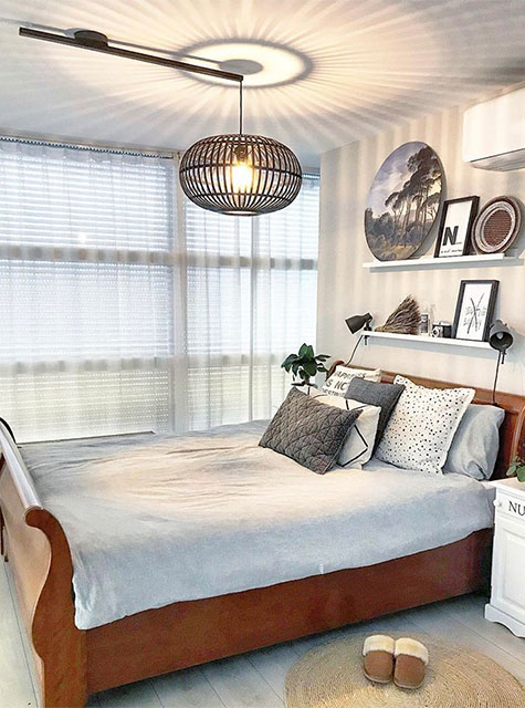 Lightswing Slaapkamer (Single Mat zwart)