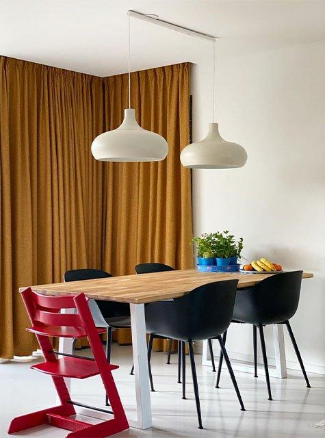 Lightswing Dining Room (Twin Matt White)